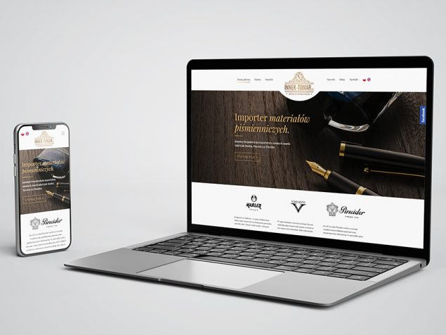 Inner Tomar – projekt strony internetowej